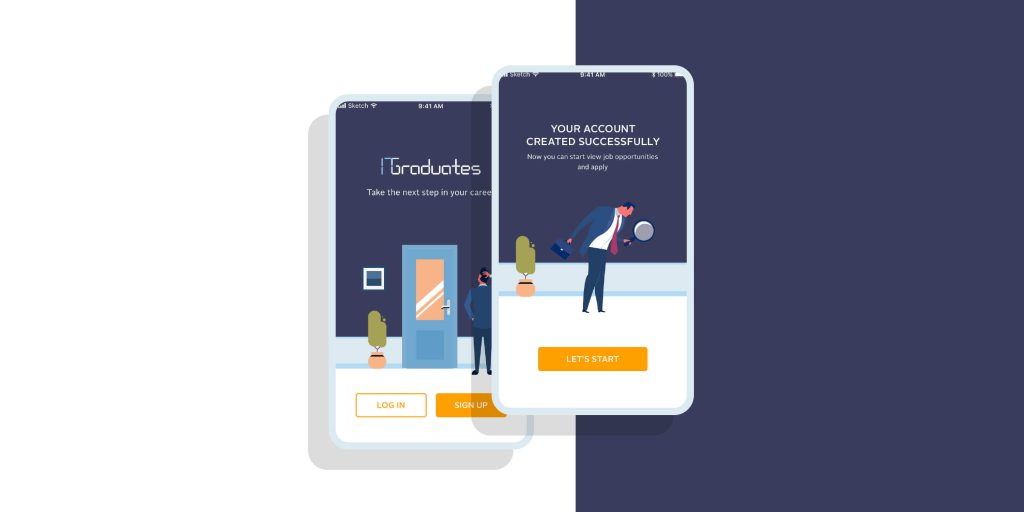 ITgraduates mobile applications outsourcing case study Tell pencil solutions about your project, technical resources you want to Book Now.